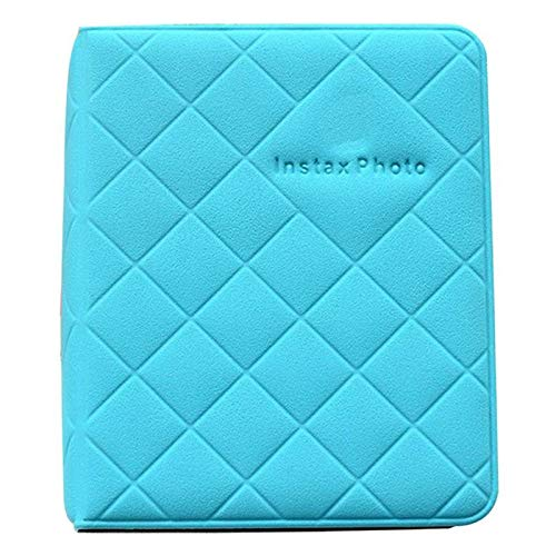 Fuji Box (zhujiaN Fotoalbum-Boxen für Fujifilm Fuji Polaroid Instax Mini 8 90 50 70 in 6 Farben, Aqua Blue)