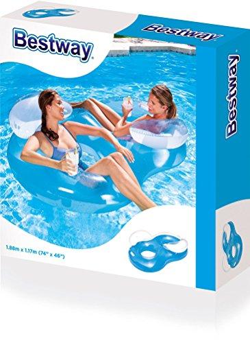 Bestway Doppel-Liegesitz Matratze Ring Float - 3