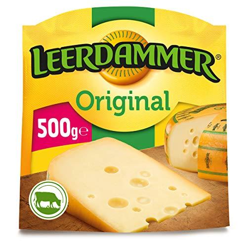 Leerdammer Original Schnittkäse 45{b864e77e6f137cfffef0f318451e864b3cca85053eadf36a3cf24e05e44198d7} Fett 500 g Packung