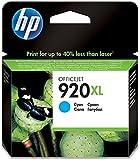 HP 920XL Blau Original Druckerpatrone mit hoher Reichweite für HP Officejet 7500A, 7000, 6000, 6500, 6500, 6500A, 6500A