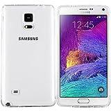 moodie Schutzhülle für Samsung Galaxy Note 4 Hülle Silikon Case Cover in Transparent