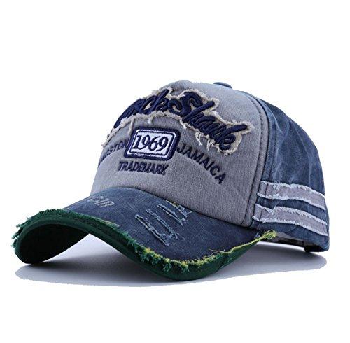 Baseballcap-Jamaica-Distressed-Snapback-Vintage-used-Look-Golf-Sport-Outdoor-Kappe-Mtze-Cap-Schirmmtze-Basecap-verstellbar