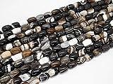 Beads Ok, DIY, Ágata, Marrón, Teñido, 13x19mm, Abalorio, Cuenta, Mostacilla o...