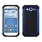 kwmobile Cover ibrida compatibile con Samsung Galaxy S3 / S3 Neo - Custodia rigida Outdoor Dual Case TPU silicone Back Case smartphone