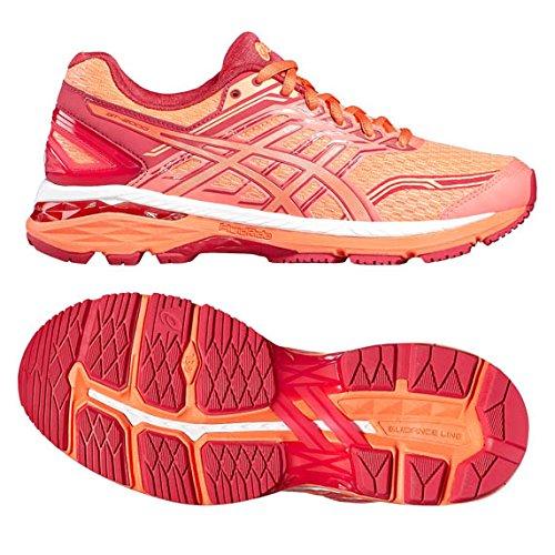 Asics Gt-2000 5, Chaussures de Running Entrainement Femme Orange