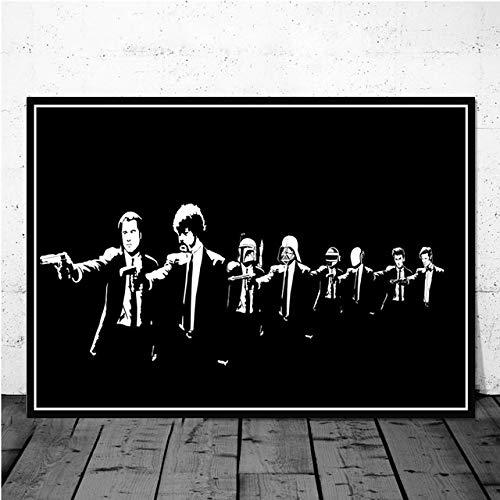 Eleanor Retro Poster Classic Movie Pulp Fiction Und Druckgrafik Kunst Malerei Wandbild Für Wohnzimmer Home Collection Dekoration 40x60 cm Kein Rahmen -
