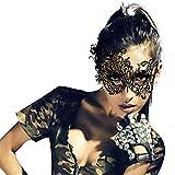Ropa de Atar 1 pc Máscara de Ojo de Encaje Sexy Encaje Floral Mascarada de Lujo Evento de Fiesta para Bailes de Disfraces, Máscaras Eróticas de Encaje Juguetes Sexuales para Mujer Holatee