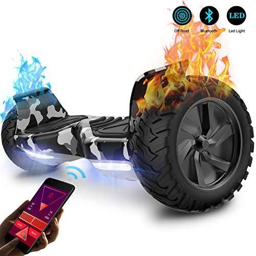 GeekMe Gyropode 8.5 Pouces Hoverboard Tout Terrain...
