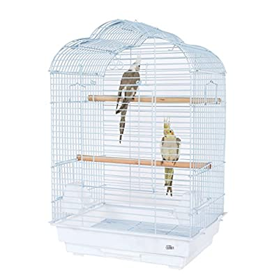 Pet Ting Daisy Bird Cage - For Budgie Lovebird Cockatiel Parrots Etc () from Pet Ting
