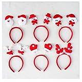 OFT 1set. Weihnachts Haarschmuck Kopfbügel Stirnband Weihnachtsschmuck