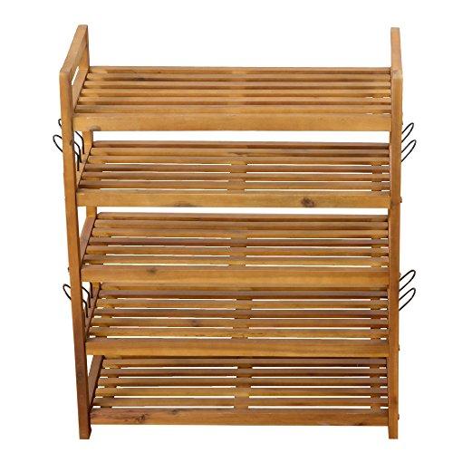 schuhregal schuhschrank regal schuhst nder schuhablage 5. Black Bedroom Furniture Sets. Home Design Ideas