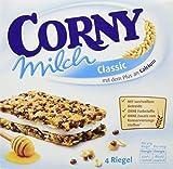 CORNY Milch Classic, Milchsandwich, 8er Pack (8 x 120g Schachtel mit je 4 Riegeln)