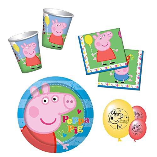 HL-Grosshandel Peppa Pig - Party Set 68-teilig