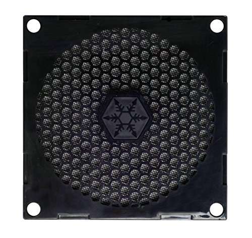 SilverStone SST-FF81B -  80mm filtre de ventilateur anti-poussière, noir