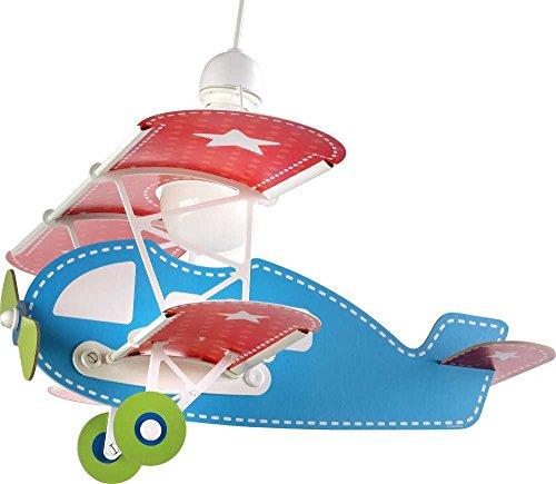 LED Kinderlampe Flugzeuge 54002 weiß 1070lm Mädchen & Jungen Kinderzimmerlampe Deckenlampe