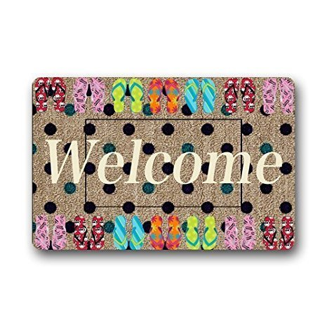 Skoyi Decorativo Doormats Custom Lavable Felpudo Verano