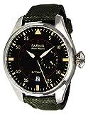 Parnis 9045Orologio in acciaio inox automatico di sportivo 5bar impermeabile orologio Aviatore Da 47mm Vetro minerale Orologio da uomo Seagull marca orologio pilota di orologio