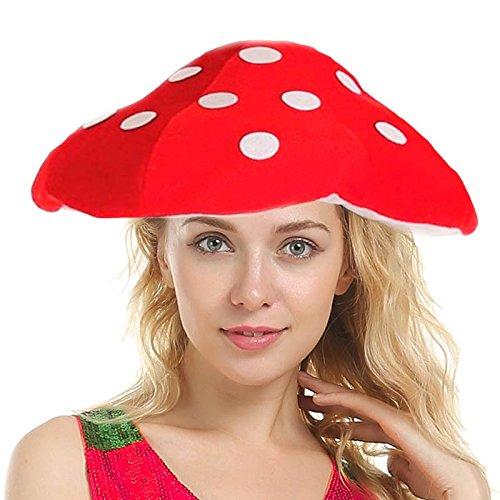 Gorro de Seta hecho en foam, material esponjoso, original y divertido. Tiene forma del sombrero de una seta roja con motas blancas. Es de talla nica, de contorno de 58 cm y un diÿmetro total de 40 cm. Vale para la mayora de adultos y adolescentes. M...