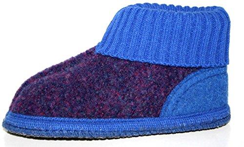 Haflinger , Chaussons pour fille Bleu Bleu Bleu - Bleu foncé