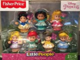 Fisher Price Little People Disney Prinzessinnen Figuren Set - 7 Prinzessinnen von Little People