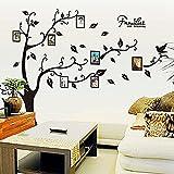 Alicemall Stickers PVC Muraux Autocollants Arbre avec des Cadres Photo pour Décoration de la Maison (Arbre 1)