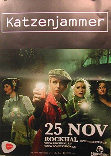 Katzenjammer, Poster 86 x 60 cm/mostra