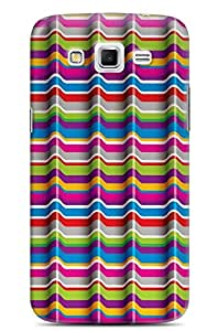 GeekCases Abstract cColor Lines Back Case for Samsung Grand 2