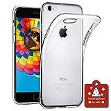 wsiiroon Hülle für iPhone 7 / iPhone 8, iPhone 7 / iPhone 8 Handyhülle [Liquid Crystal] Soft Flex Silikon Transparent Durchsichtig [Ultra Dünn] Klar Weiche TPU Schutzhülle [4,7 Zoll]