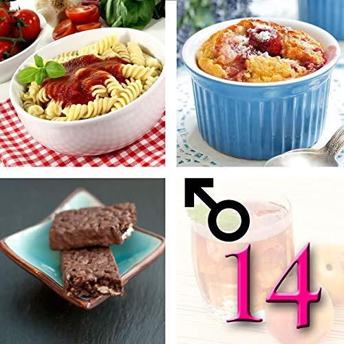 Régimen rico en proteínas para hombres con pasta y bolsitas o barritas hiperproteicas – Guía para perder peso de regalo