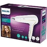 Philips DryCare Advanced HP8232/00 - Secador ThermoProtect Ionic con ionizador para suavizar el cabello, 2200 W