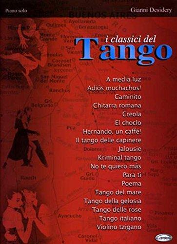 Classici Del Tango Piano