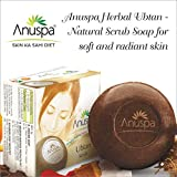 Anuspa Soap Ubtan Scrub For Soft And Radiant Skin (125 G) Pack Of