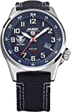 Kentex jsdf estándar Solar Air Self-Defense Force modelo de hombre Azul Daal reloj s715 m-02