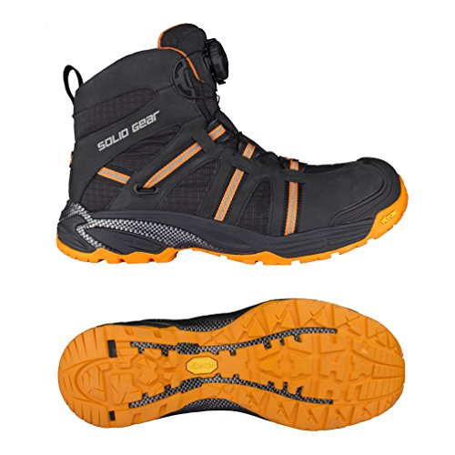 Preisvergleich Produktbild Solid Gear sg8000744Phoenix GTX Sicherheitsschuhe S3Größe 44Schwarz/Orange