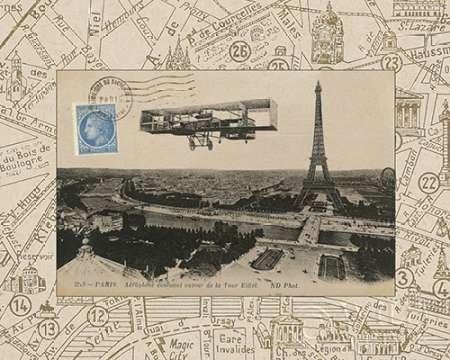 Destination Paris III von Wild Apple Portfolio–Fine Art Print erhältlich auf Leinwand und Papier, canvas, SMALL (10 x 8 Inches )