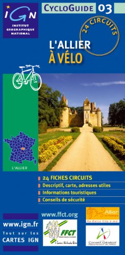 Allier Cycloguide 24 Circuits: IGNCYCLOG.03