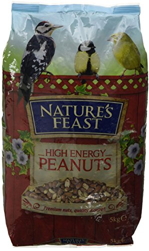 Nature's Feast High Energy Peanuts For Wild Birds, 5 kg 1