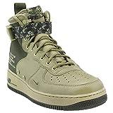 NIKE Men's SF Air Force 1 Mid Shoe Neutral Olive/Cargo Khaki (8 D(M) US)