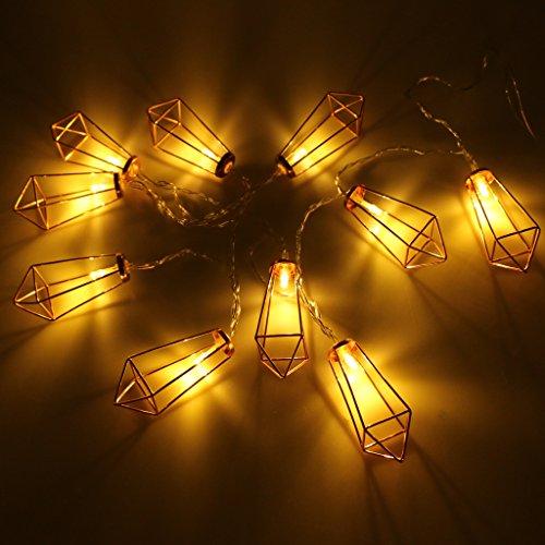 LED Dekoleuchte, roségold - 7