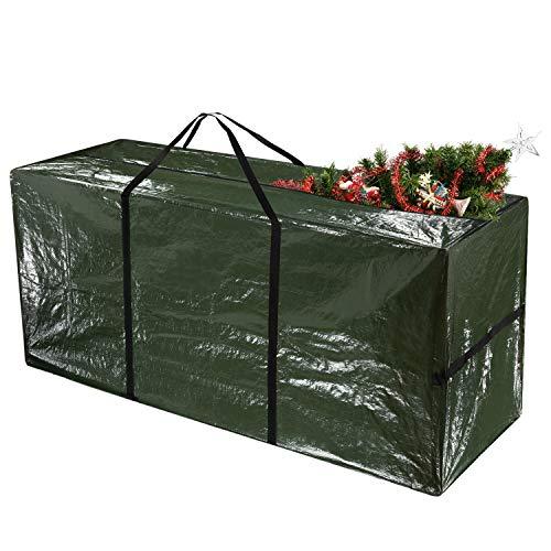 TUPARKA Borsa per Albero di Natale,Custodia per Albero di Natale per Alberi Fino a 7 Piedi di Materiale Impermeabile Alto Protegge da Polvere, 48'x 15' x 22'(122 x 38 x 55 cm)