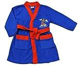 Peignoir pour garçon Disney Mickey Mouse, Bleu et Rouge, 1à 5ans -  bleu - 2-3 ans