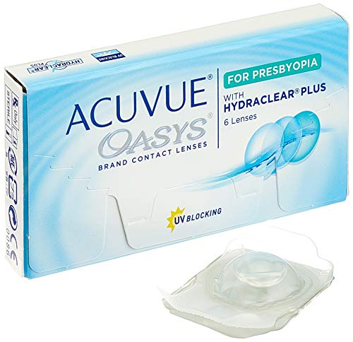 Acuvue Oasys for Presbyopia 2-Wochenlinsen weich, 6 Stück / BC 8.4 mm / DIA 14.3 / 3.25 Dioptrien / ADD MED