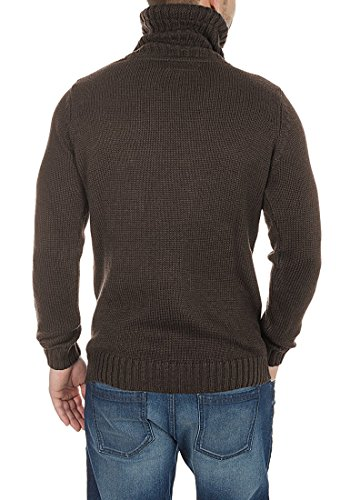 SOLID Paras - Pull en Maille - Homme Coffee Bean Melange (8973)