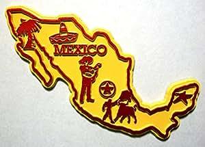 Mexique, États-Unis 5 couleur Magnet Frigo