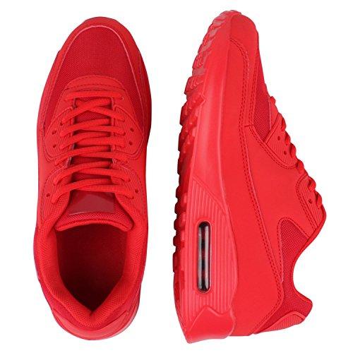 Japado–Chaussures de gymnastique basses femme Rouge - Rouge