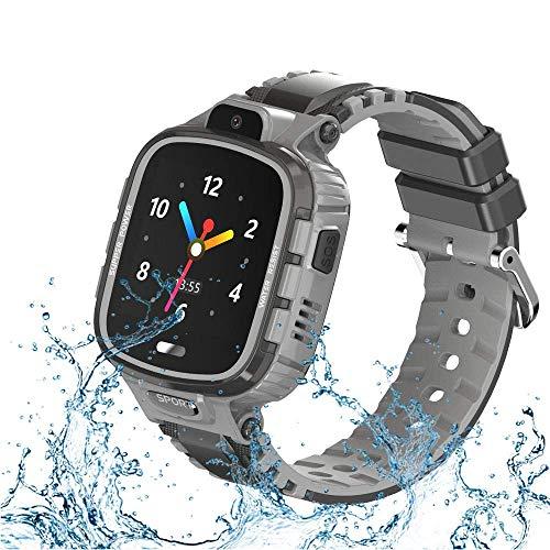 9Tong Cámara Impermeable para Niños Reloj Inteligente Pantalla Táctil GPS Rastreador de Niños Reloj...