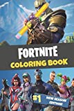 Fortnite Coloring Book: New Season Edition: 45 action-packed Fortnite coloring pages ...