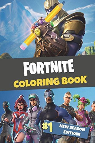 Fortnite Coloring Book: New Season Edition: 45 action-packed Fortnite coloring pages for you to color in! por 8mm Notch Publishing