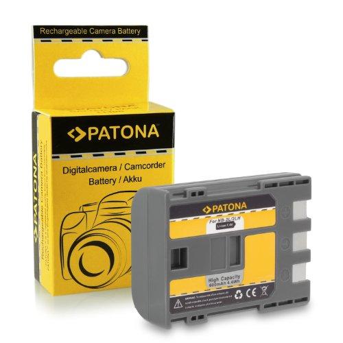 Bateria NB-2L para Canon PowerShot G7 | G9 | S30 | S40 | S45 | S50 | S60 | S70 | S80 | EOS 350D | 400D | SLR DIGITAL REBEL XT KISS N | EOS Digital Rebel Xt | Xti | DC301 | DC310