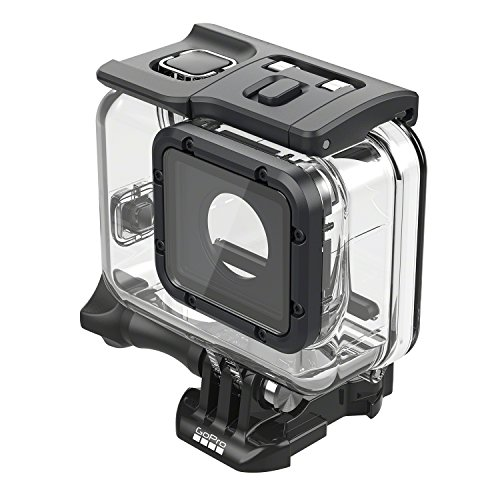 Waterproof your GoPro Hero 5 Black down to 60m  Comes with two waterproof backdoors, floaty compatible  Flat glass lens for sharp images above & below water If you're an extreme outdoor sportsperson of deep-water diver, there might be so much th...
